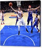 Minnesota Timberwolves V Philadelphia Canvas Print