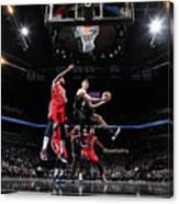 New Orleans Pelicans V Brooklyn Nets Canvas Print