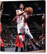 New Orleans Pelicans V Detroit Pistons Canvas Print