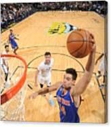 New York Knicks V Denver Nuggets Canvas Print