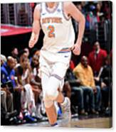 New York Knicks V La Clippers Canvas Print