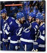 New York Rangers V Tampa Bay Lightning Canvas Print