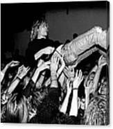 Nirvana Perform Live In Frankfurt Canvas Print