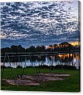 Obear Park Sunset Canvas Print
