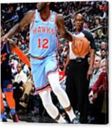 Oklahoma City Thunder V Atlanta Hawks Canvas Print
