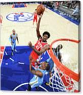 Philadelphia 76ers V Denver Nuggets 3 Canvas Print