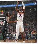 Phoenix Suns V Milwaukee Bucks Canvas Print