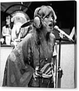 Photo Of Stevie Nicks And Fleetwood Mac Canvas Print