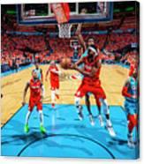 Portland Trail Blazers V Oklahoma City Canvas Print