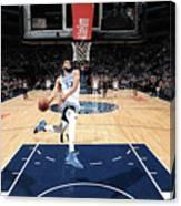 Sacramento Kings V Minnesota Canvas Print