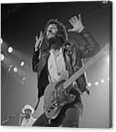 Springsteen Live In New Jersey Canvas Print
