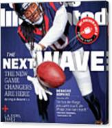 The Next Wave The New Game Changers Are Here Sports Illustrated Cover Canvas Print