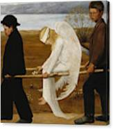 The Wounded Angel Canvas Print