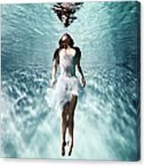 Underwater Ballet Canvas Print