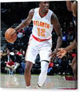 Utah Jazz V Atlanta Hawks Canvas Print