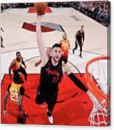 Utah Jazz V Portland Trail Blazers Canvas Print