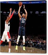 Washington Wizards V New York Knicks Canvas Print