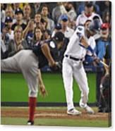 World Series - Boston Red Sox V Los 3 Canvas Print