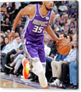 Utah Jazz V Sacramento Kings Canvas Print