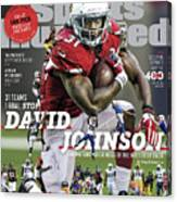 31 Teams, 1 Goal Stop David Johnson, 2017 Nfl Football Sports Illustrated Cover Canvas Print