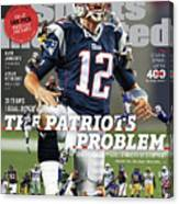 31 Teams, 1 Goal Stop Tom Brady, 2017 Nfl Football Preview Sports Illustrated Cover Canvas Print