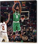 Boston Celtics V Cleveland Cavaliers Canvas Print