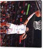 Oklahoma City Thunder V Houston Rockets Canvas Print