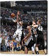 San Antonio Spurs V Memphis Grizzlies - Canvas Print