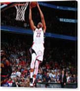 Atlanta Hawks V Washington Wizards Canvas Print