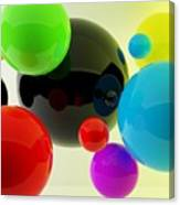 3d Balls Canvas Print