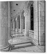 Arlington National Cemetery Memorial Amphitheater Canvas Print