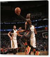 Atlanta Hawks V New Orleans Pelicans Canvas Print