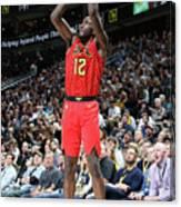Atlanta Hawks V Utah Jazz Canvas Print
