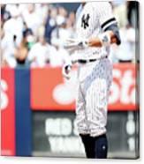 Boston Red Sox V New York Yankees - 4 Canvas Print