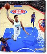 Charlotte Hornets V Detroit Pistons Canvas Print