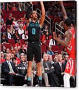 Charlotte Hornets V Houston Rockets Canvas Print