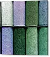 Colourful Carpet Samples Canvas Print