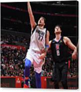 Dallas Mavericks V La Clippers Canvas Print