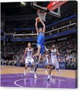 Dallas Mavericks V Sacramento Kings Canvas Print