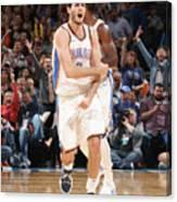 Denver Nuggets V Oklahoma City Thunder Canvas Print