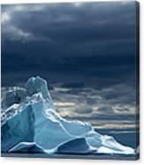 Icebergs, Disko Bay, Greenland Canvas Print