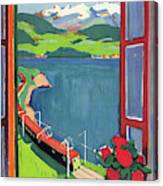 Lake Geneva Canvas Print