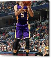 Los Angeles Lakers V Memphis Grizzlies Canvas Print