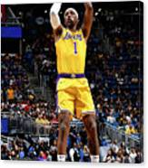Los Angeles Lakers V Orlando Magic Canvas Print
