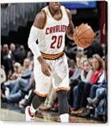 Memphis Grizzlies V Cleveland Cavaliers Canvas Print