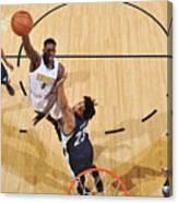 Memphis Grizzlies V Denver Nuggets Canvas Print