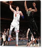 Milwaukee Bucks V New York Knicks Canvas Print