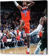 Milwaukee Bucks V Oklahoma City Thunder Canvas Print