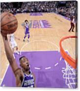 Milwaukee Bucks V Sacramento Kings Canvas Print