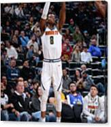 Minnesota Timberwolves V Denver Nuggets Canvas Print